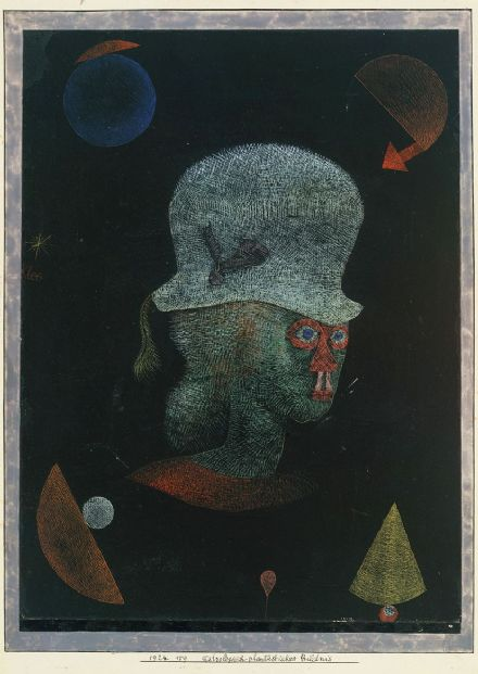 Klee, Paul: Astrological Fantasy Portrait. Fine Art Print/Poster (5007)